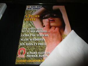 """COFFRET 2 DVD """"4 FILMS DE PATRICK AUBIN : LES APRES-MIDI D'UNE BOURGEOISE / LANG"""