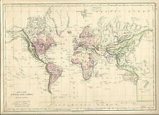1873 Map of Rivers and Lakes by A. Von Steinwehr, Cowperthwait & Co.