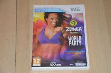 jeu Nintendo Wii : Zumba Fitness / World Fitness - VF complet