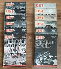 Vintage QST AMATEUR RADIO MAGAZINE - 1941 Full Year, 12 Issues