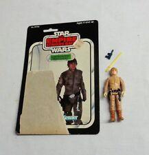 Vintage 1980 Star Wars ESB Luke Skywalker Bespin Figure Complete 31 Cardback