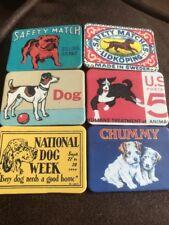 6 cane a tema NUOVO Job Lotto collezione di magneti frigo Stile Retrò Vintage