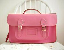 "The Cambridge Satchel Company Batchel 15"" inch in Pink Genuine Leather"