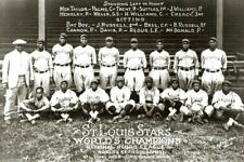 1928 St Louis Stars Team PHOTO Negro League Baseball Champs, Cool Papa Bell