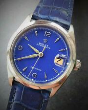 Rolex ♛ Oysterdate Bluedream 6294 Vintage Elegant Luxury Men's Watch III.1954