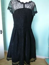 Miusol black lace occasion dress size 2 XL 18 20 new