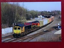 PHOTO  BR DIESEL CLASS 66 LOCO NO 66709 JOSEPH ARNOLD DAVIES