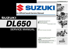 Suzuki DL650 V-STROM Workshop Service Shop Manual DL 650 2004 to 2011 VSTROM