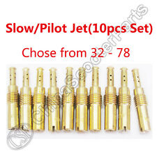 10PCS Slow Pilot Jet M6x0.75 For Keihin PWK OKO KOSO CVK PE GY6 Carburetor Carb