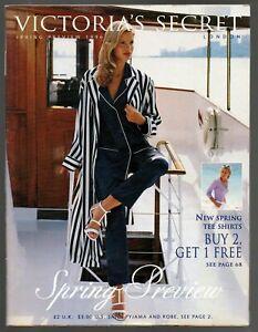 Victoria's Secret Spring Preview 1996 catalog 100 pages