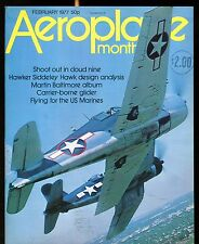 Aeroplane Monthly Magazine February 1977 Hawker Siddeley EX No ML 120216jhe
