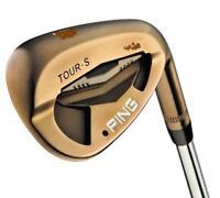 (1) Ping Golf Tour-S Rustique Iron LH 50 12 Gap Wedge LEFT Stiff Steel FAST SHIP