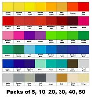 """6"""" Tile Decals / Transfers / Stickers for Kitchens / Bathrooms, 50+ Colours"""