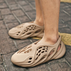 Men Sandals Hole Shoes Rubber Outdoor Casual Beach Slipper Summer Water Footwear