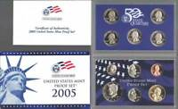 (1) 2005 United States Proof Set in Original Box