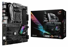 Asus ROG Strix B350-F Gaming AMD Ryzen Socket AM4 ATX Motherboard DDR4 RGB LED