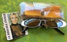 Dr Martens Airwair 1980s Women Sunglasses & Case~ Mirror Lenses~Rockabilly Style