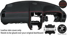 RED STITCH TOP DASH DASHBOARD LEATHER COVER FITS FITS CHRYSLER 300C 2005-2011