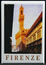 "Florence Italy Vintage Travel Poster 2"" X 3"" Fridge Magnet. Firenze Rome"