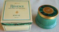 "Vintage Avon ""REGENCE"" Perfumed Skin Softener 5 oz. - New Decorator Jar"