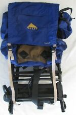 Blue Kelty Trekker External Frame Adjustable Backpack Size 3