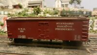 Roundhouse MDC Custom Standard Tomato Old Time 36' Reefer, Upgraded, Exc