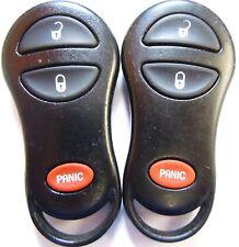 Lot 2 Keyless remote entry OEM control transmitter key fob bob clicker wireless