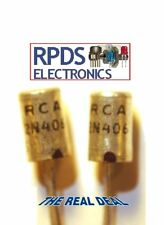 RCA 2N406 GERMANIUM PNP TRANSISTOR  TO1 CASE NOS  NIB - THE REAL DEAL