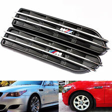 Car Air Flow Side Fender Vents Mesh Grille Fit For BMW E60 M5 E61 E39 E90 M3 E46