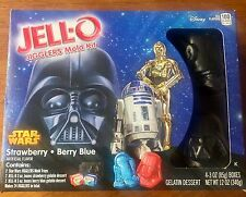 STAR WARS *JELL-O JIGGLERS MOLD KIT -  DARTH VADER R2D2 Characters Design - 12oz