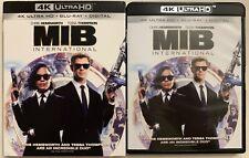 MEN IN BLACK INTERNATIONAL 4K ULTRA HD BLU RAY 2 DISC SET + SLIPCOVER SLEEVE BUY