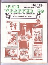 THE WRAPPER #129 - 1995 Non-sports cards fanzine - Market Report