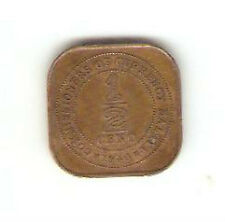 Offer> Malaya KGVl half-cent 1940 bronze coin high grade! ??