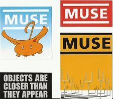 MUSE set of 4 stickers STICKER SET official ex tour merchandise RARE SET