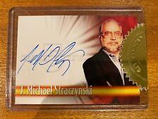 Rare-Babylon 5-A1 J Michael Straczynski-Autographed Card-Chase Insert! Wow!