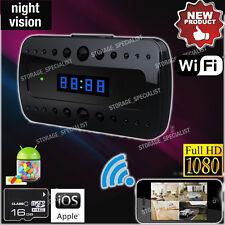 Wireless IP Camera Home Surveillance Security Cam P2P Clock Cam (No SPY Hidden