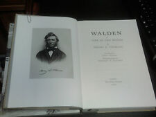 WALDEN OR LIFE IN THE WOODS by HENRY D. THOREAU