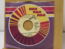 Lou Reed 45 MARTIAL LAW bw DON'T TALK TO ME ABOUT WORK   RCA  VG++