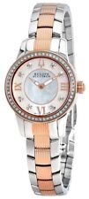 Swiss Made Bulova Accutron 65R145 Masella Diamond Accented Two Tone Ladies Watch