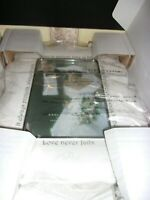 Lenox Opal Innocence Love Is Patient Picture Frame, 5x7 New in Box