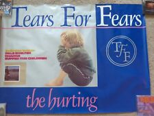Tears For Fears Very Rare Canadian Polygram Promo Poster for The Hurting 37 x 27