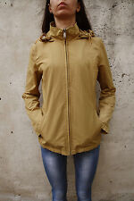 Gas Women Originals Camel Jacket Nylon Removable Hood M Stylish Lined Windrunner