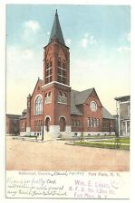 Postcard NY Fort Plain New York Reformed Church 1907