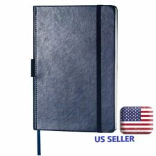 Blue Thick Notebook With Pocket Pen Loop Amppage Dividersbanded 56 Or 100 Pages