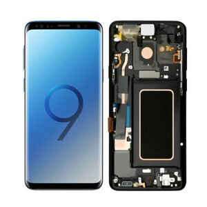 SM-G960U G960 W F/DS Samsung Galaxy S9 LCD Digitizer Screen Replacement Dot B