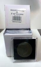 10 - Guardhouse 2 x 2 Tetra Plastic Snap locks - HALF DOLLAR Coin Storage
