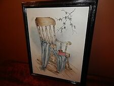 Rocking Chair, Original Painting (not a print),  By Oregon Artist, Pam Noon