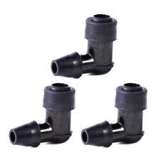 3Pcs 90º Black NonResistor Spark Plug Cap Cover Fit For Motorcycle Dirt Bike ATV