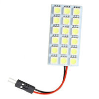 7X(Panel 18 5050 SMD LED Lampara Luz Interior del Coche Adaptador T10/BA9S/Fe Y8