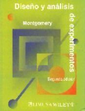 Diseño y análisis de Experimentos by Douglas Montgomery (Other)
